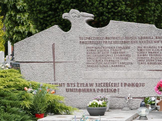 Mogiła rozstrzelanych w 1939 roku - Kórnik