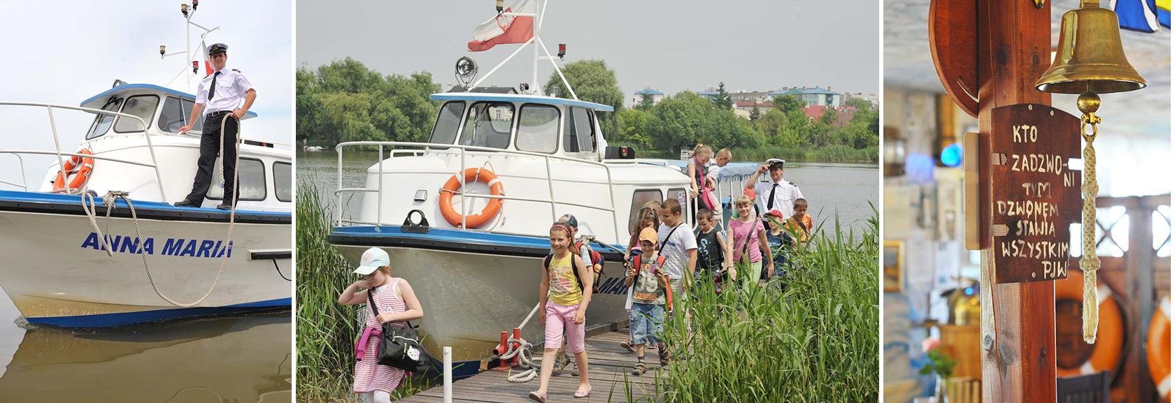 Rejsy statkiem po Jeziorze Kórnickim