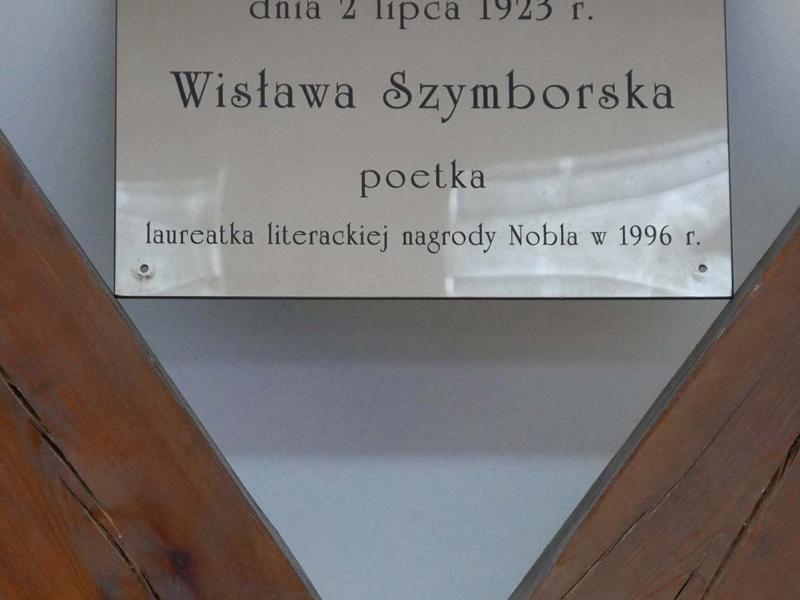 Izba Pamięci Wisławy Szymborskiej - Kórnik-Bnin