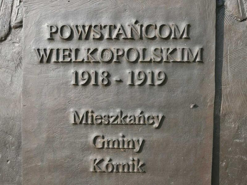 Pomnik Powstańców Wielkopolskich - Kórnik