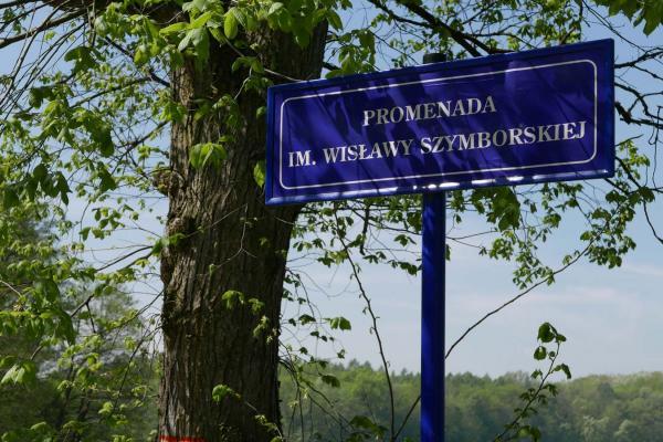 Promenada imienia Wisławy Szymborskiej - Kórnik